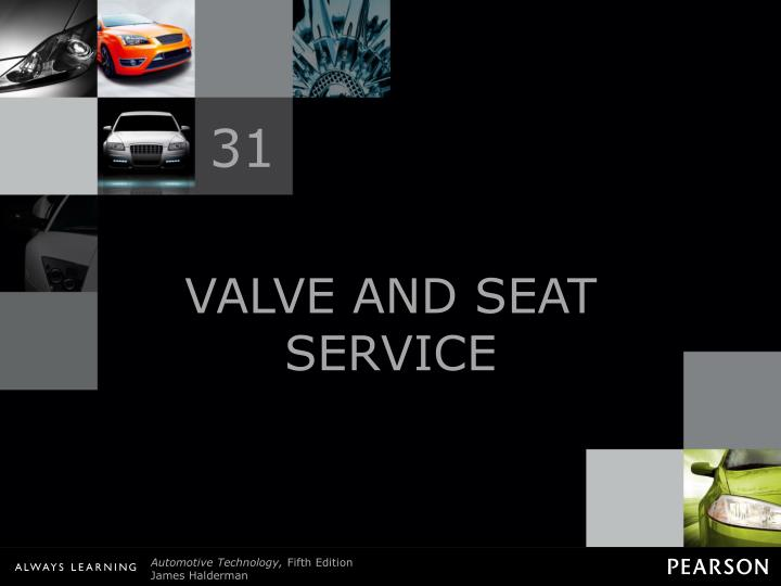valve and seat service n.
