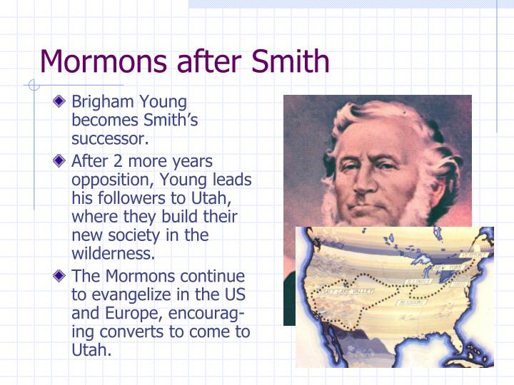 Mormons after Smith