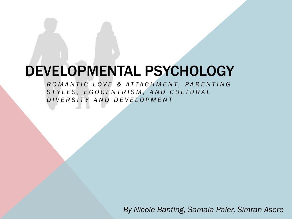 developmental psychology n.