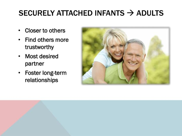Securely attached infants