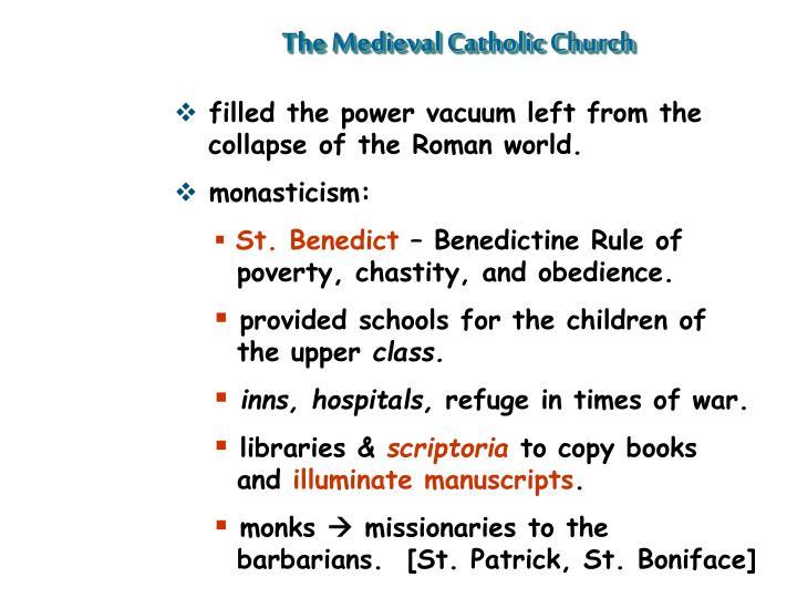 The Medieval Catholic Church