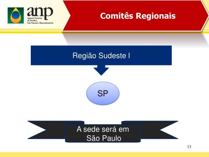Comitês Regionais