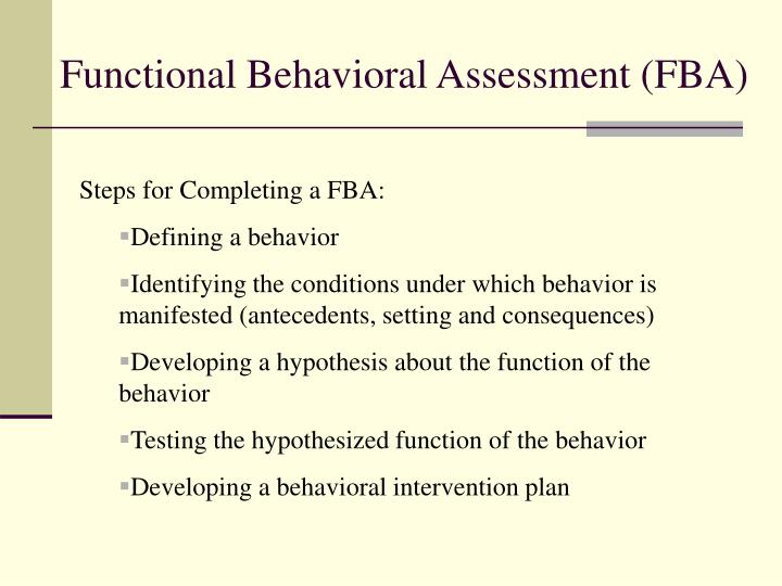 bip conditions functions Pbisworld tier 2 interventions are more targeted and individualized behavior strategies functional behavior assessments (fba) are an effective way to discover and analyze the purpose and functions of behaviors so appropriate interventions can be applied.