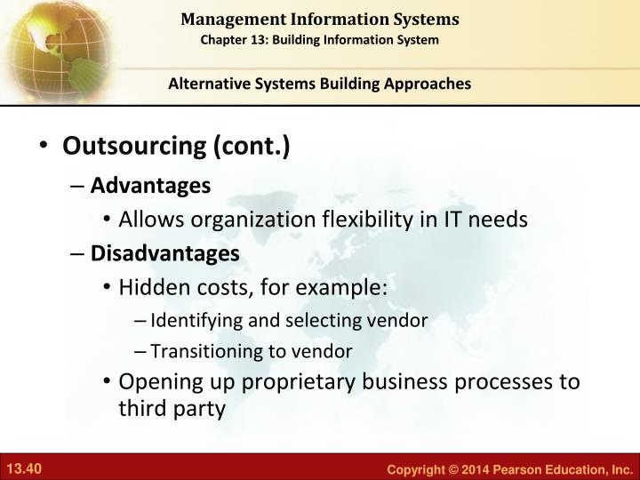 Alternative Systems Building Approaches