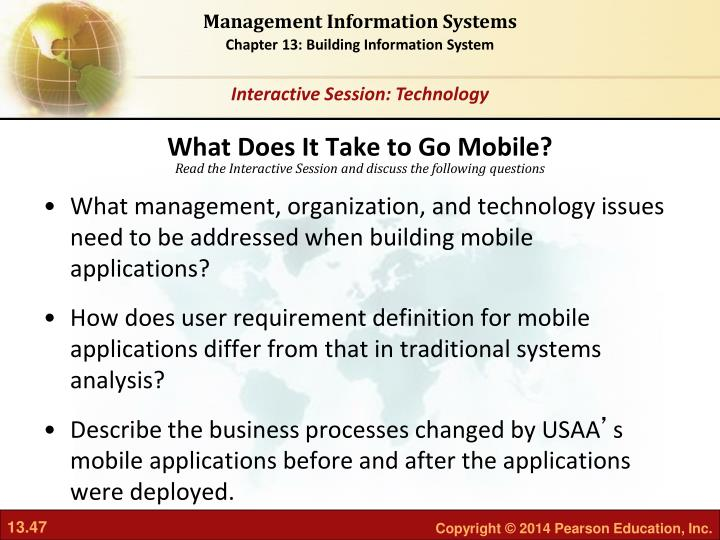 What Does It Take to Go Mobile?