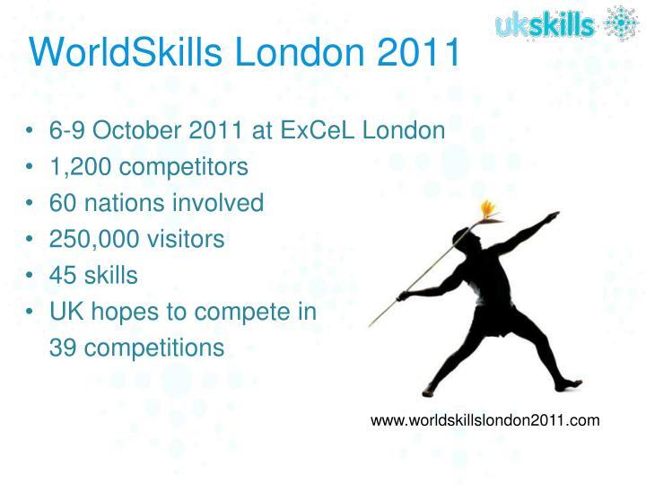 WorldSkills London 2011