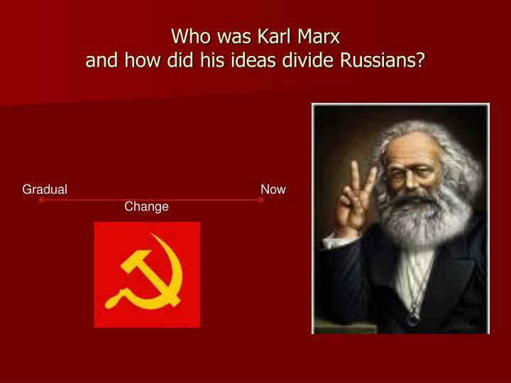 Who was Karl Marx