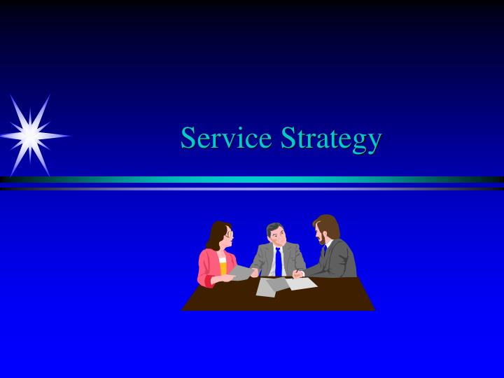 service strategy n.