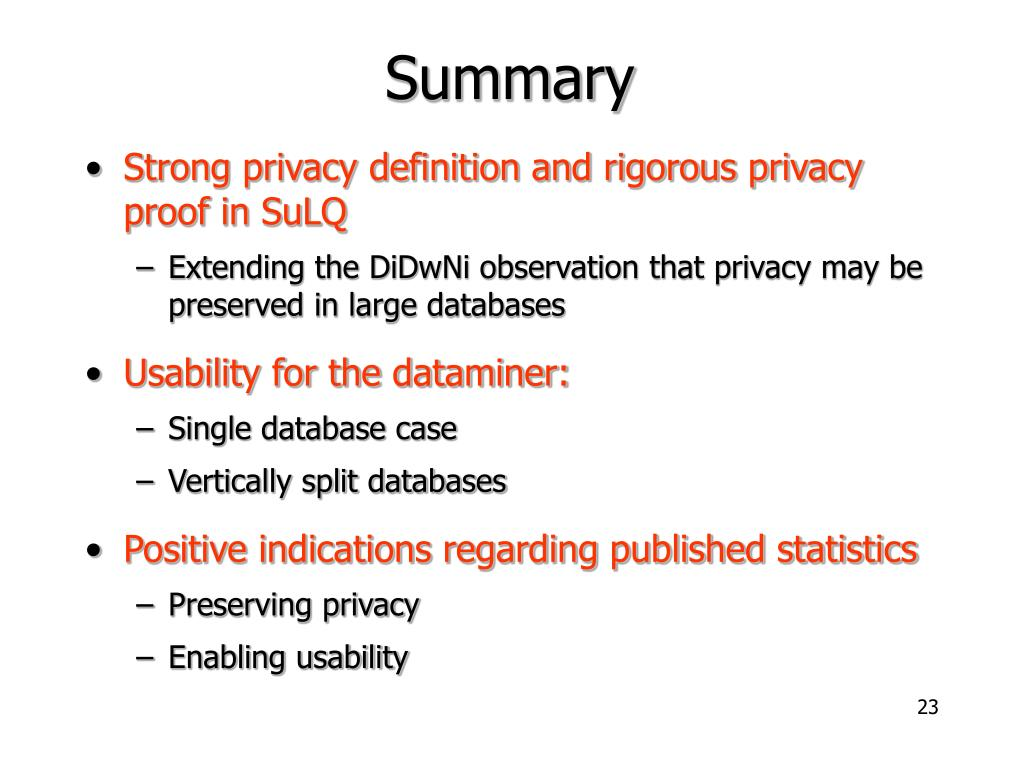 PPT - Privacy-Preserving Datamining on Vertically