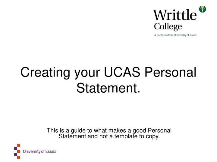 ending your personal statement ucas Certain words in a personal statement will allow you to capture your reader's attention we have compiled them into a handy list to get you started.