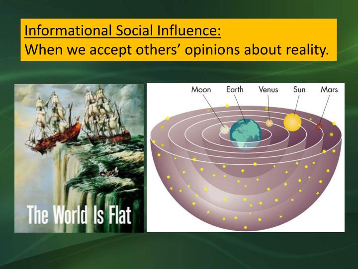 Informational Social Influence: