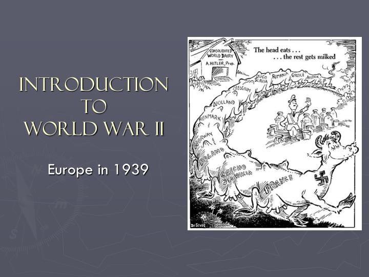 introduction to world war 2 essays World war ii was the second global war that lasted from 1939 to 1945 the war involved a majority of the world's countries, and it is considered the deadliest conflict in human history.