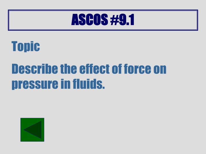 ASCOS #9.1