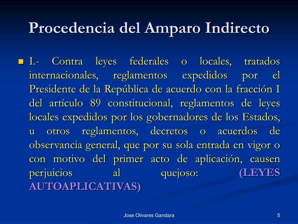 Ppt El Amparo Indirecto Powerpoint Presentation Free