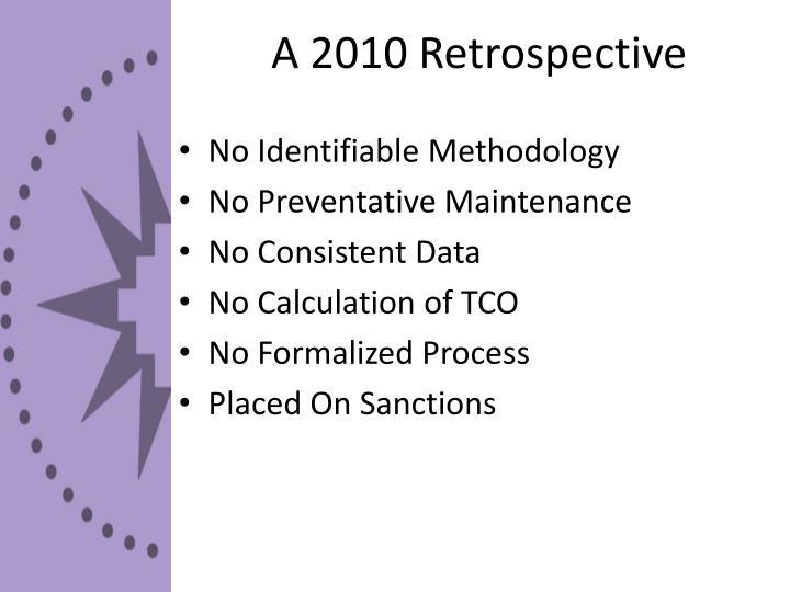 A 2010 Retrospective