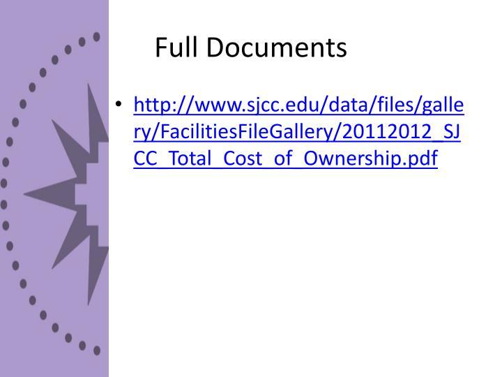 Full Documents