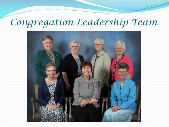 Congregation Leadership Team