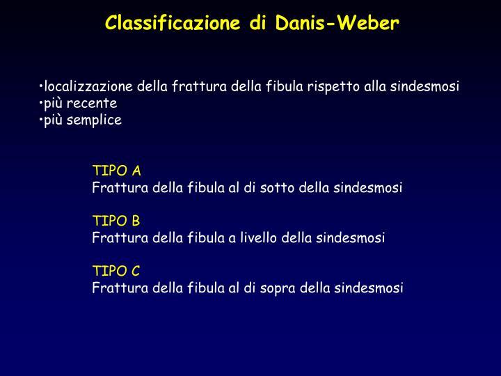 Classificazione di Danis-Weber