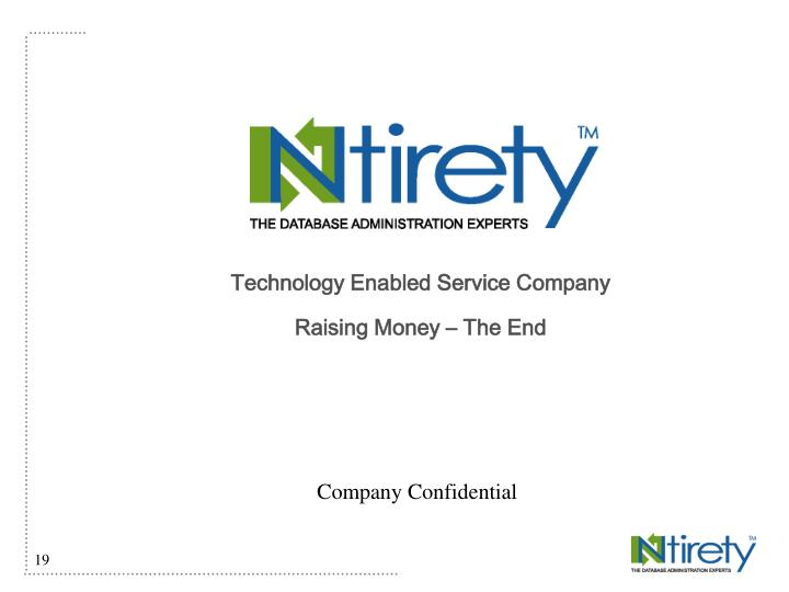 Technology Enabled Service Company