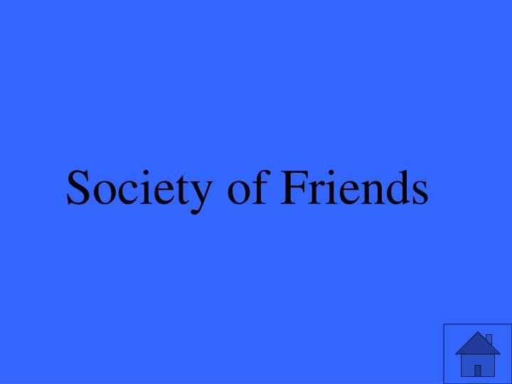 Society of Friends