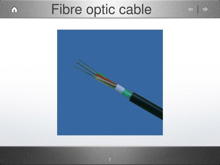 Fibre optic cable