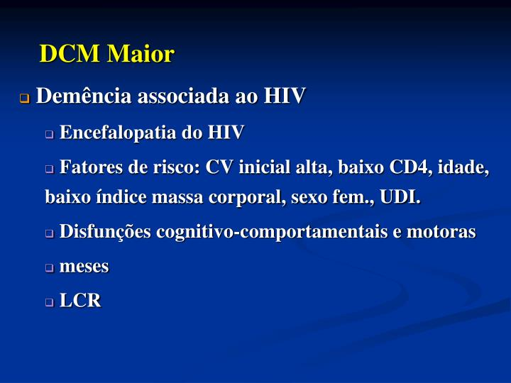 DCM Maior