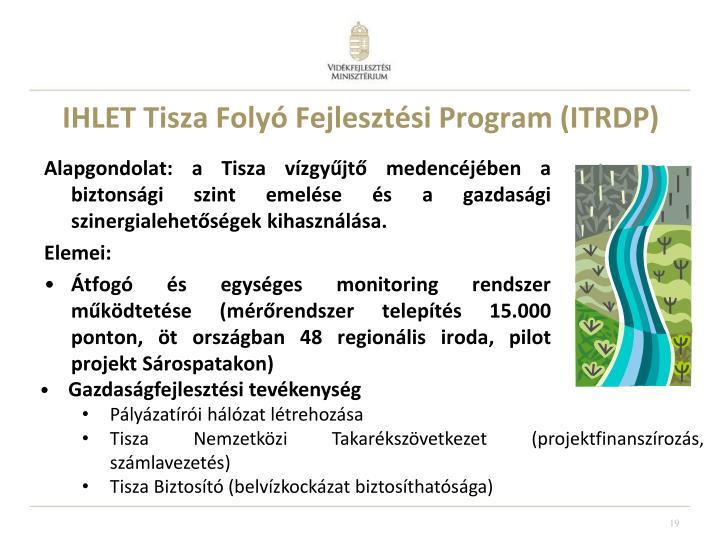 IHLET Tisza Folyó Fejlesztési Program (ITRDP)