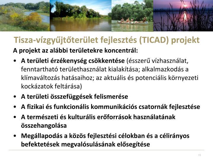 Tisza-vízgyűjtőterület fejlesztés (TICAD) projekt