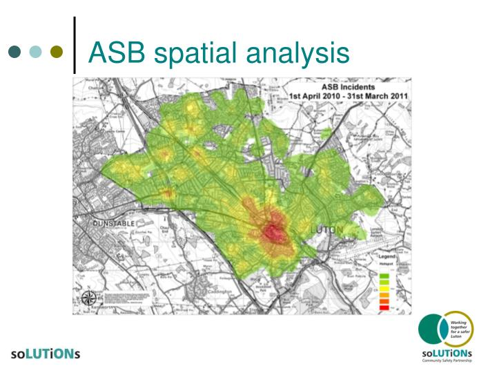 ASB spatial analysis