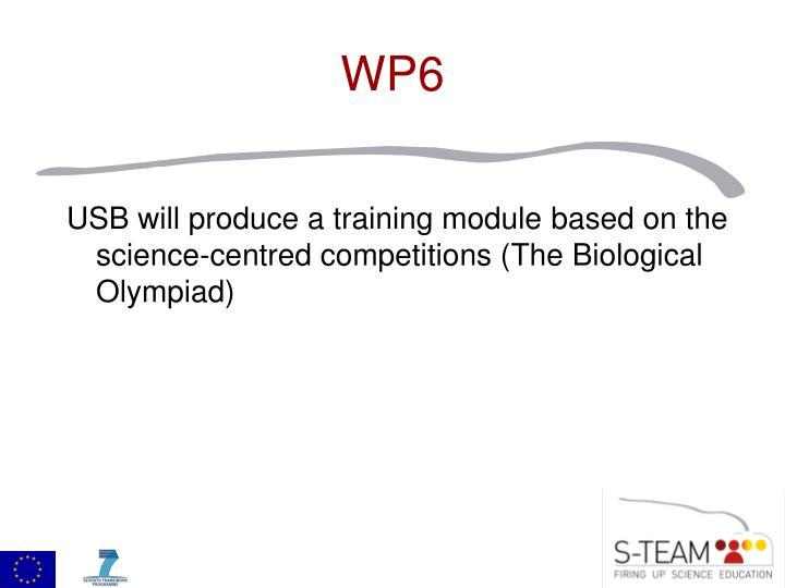 USB will produce a training module