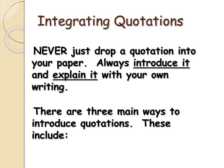 quotation examples