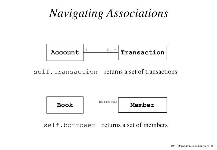 Navigating Associations