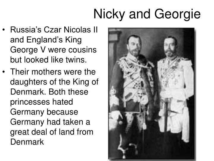 Nicky and Georgie
