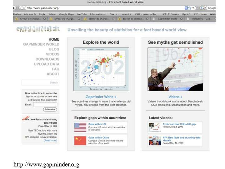 http://www.gapminder.org