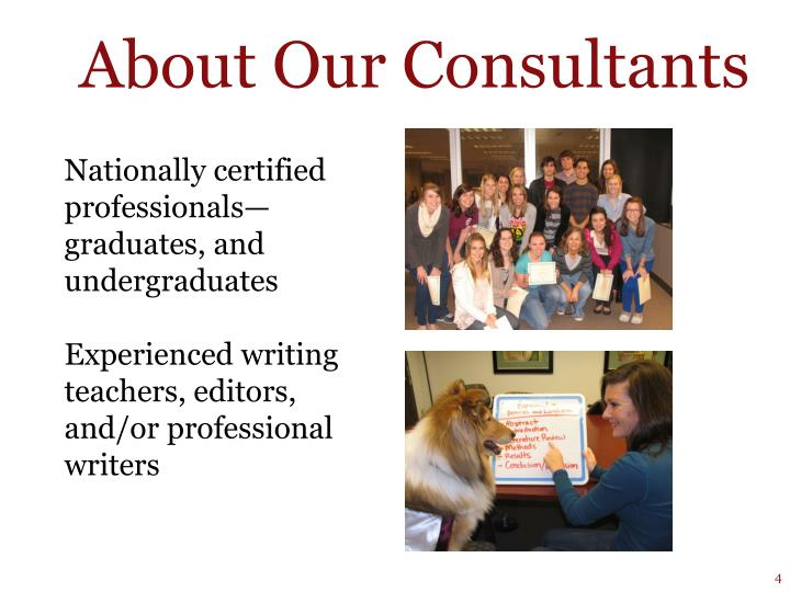 About Our Consultants