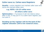 caller save vs callee save registers1