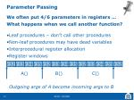 parameter passing1