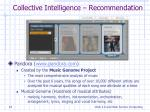 collective intelligence recommendation1