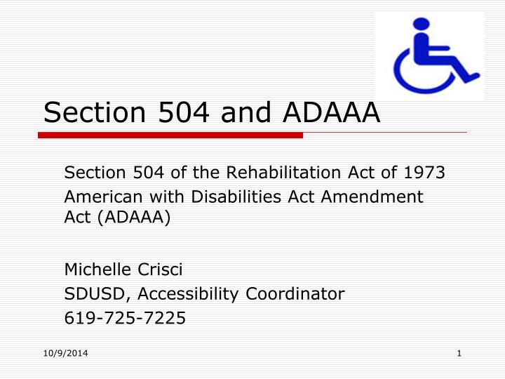 an essay on the americans with disabilities act