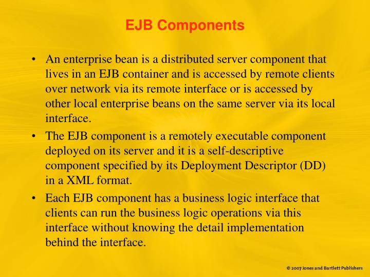 EJB Components