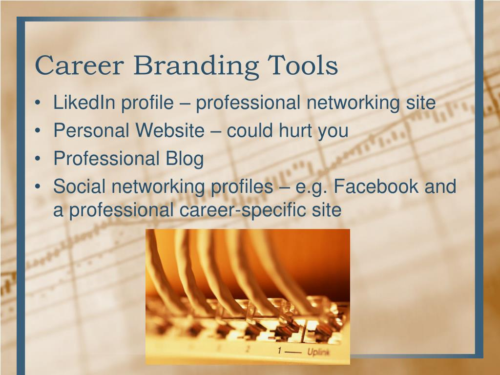 PPT - Building Your Career Brand PowerPoint Presentation