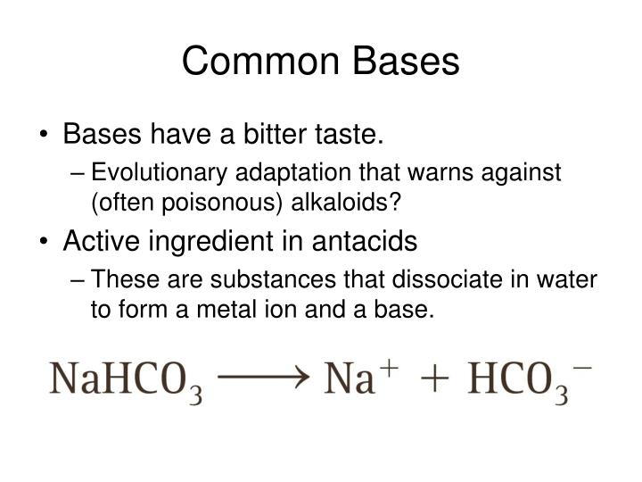 Common Bases