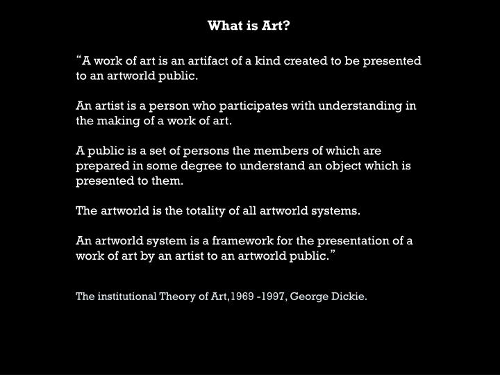 What is art1