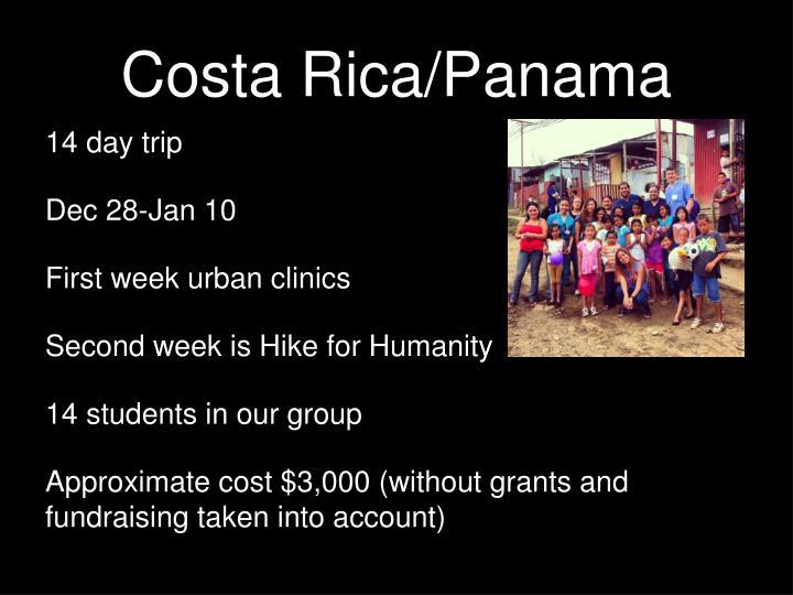 Costa Rica/Panama