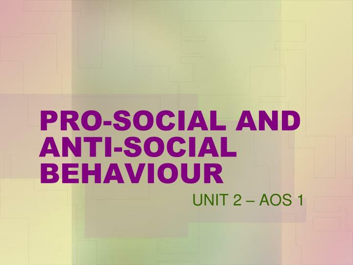 the view that anti social behavior can be promoted by the media Even though employees may misuse social media—and need to be trained on what is and is not acceptable—it is a powerful tool that companies can use to promote ethical practices and culture, a.
