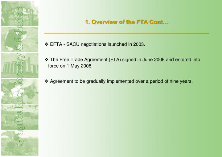 an overview of the topic of finishing the fta