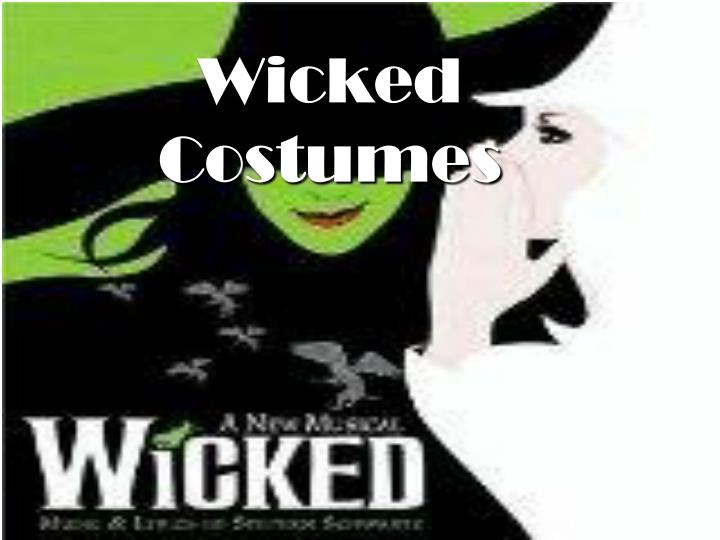 wicked costumes n.
