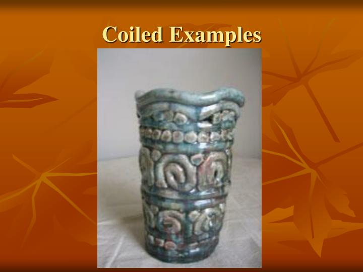 Coiled Examples