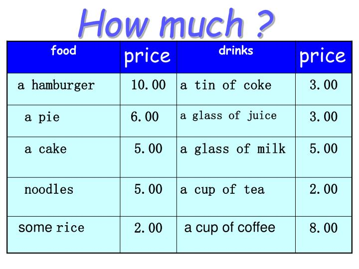 How much ?