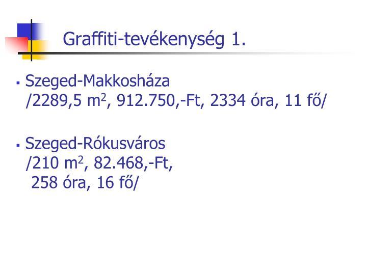 Graffiti-tevékenység 1.